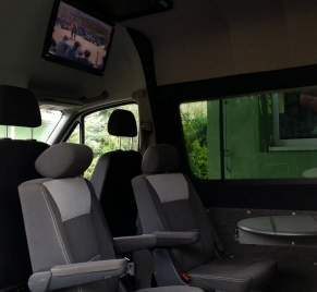 Zabudowana Comfort na bazie Multivan